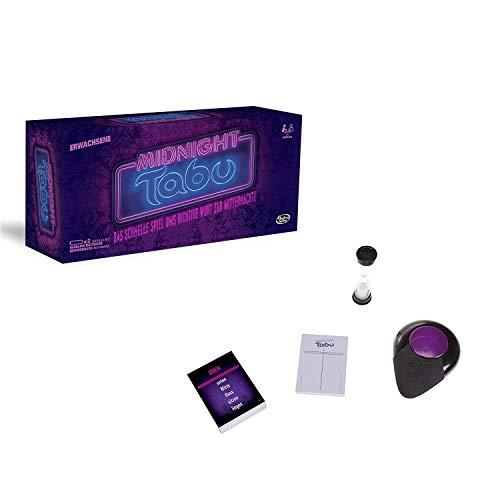 Hasbro C0418100 Tabu Midnight Spiel für Erwachsene, unterhaltsames...
