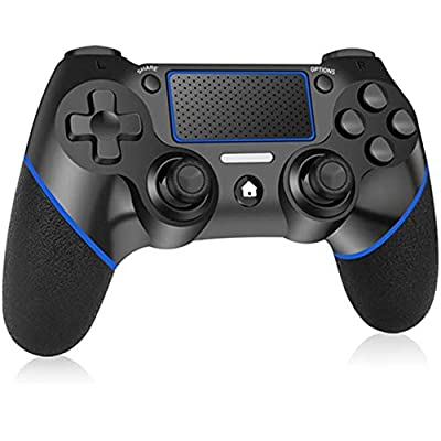 Amazon - 50% Off on Wireless Controller for PS4, Dual Vibration Wireless Gamepad Controller