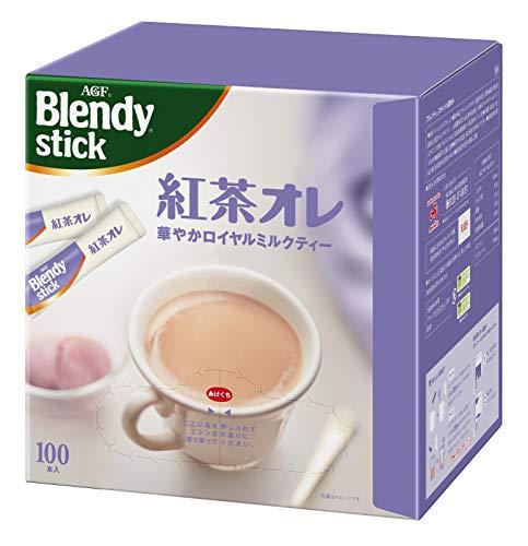 AGF ブレンディ スティック 紅茶オレ 100本 【 ミルクティー 】