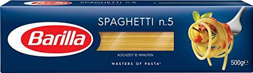 Barilla Hartweizen Pasta Spaghetti n. 5 – 1er Pack (1x500g)