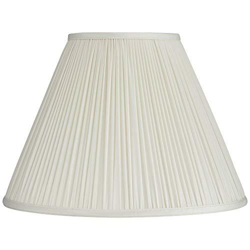 Beige Mushroom Pleated Medium Empire Lamp Shade 7