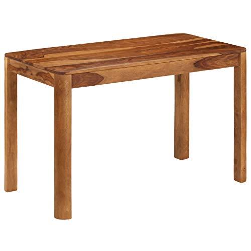 vidaXL Sheesham-Holz Massiv Esstisch 120x60x76 cm Küchentisch Esszimmertisch