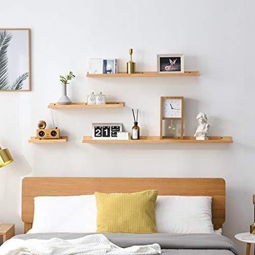 Drijvende planken Rustieke Houten Wandplank Handgemaakte Bloemenpot Rek voor Slaapkamer Badkamer Woonkamer Keuken