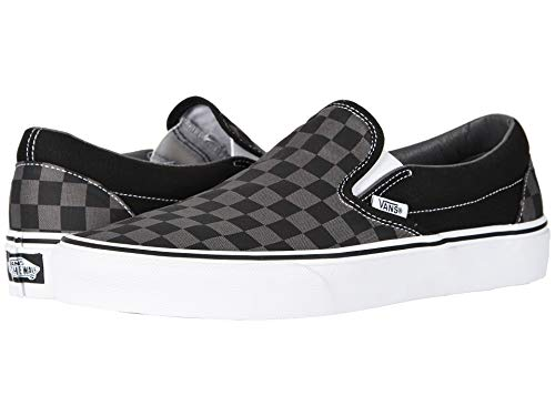 Vans Unisex Adults Classic Slip On Trainers Black/Pewter