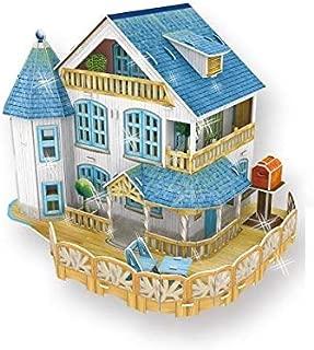 Cubicfun 3d Puzzle Series-Rural Villa Dollhouse