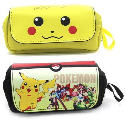 Étui à crayons pikachu Pokémon Anime pour...