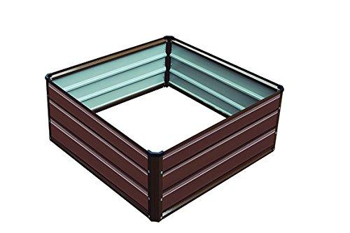 Gardiun KIS12984 - Jardinera Grove Cuber VI 100X100X38 cm