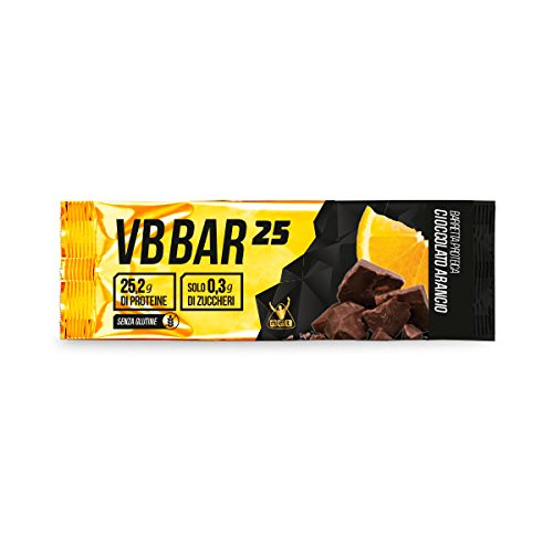 VB Bar 25 Protein Bar NET box 24x50g. gusto Cioccolato Arancio