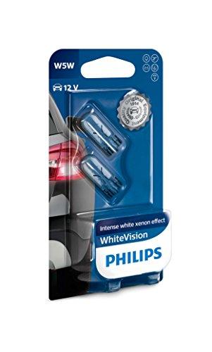Bombillas W5W Philips, visión blanca
