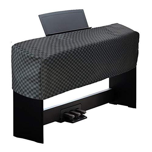 Abdeckung für Klaviertastatur, 88 Tastatur Klavierabdeckung Elektronische Klavier Abdeckung, PU Leder wasserdichte Tastatur Staubschutz Tastaturabdeckung Schutz für Yamaha P45 P85 P95 P105 P35 P115