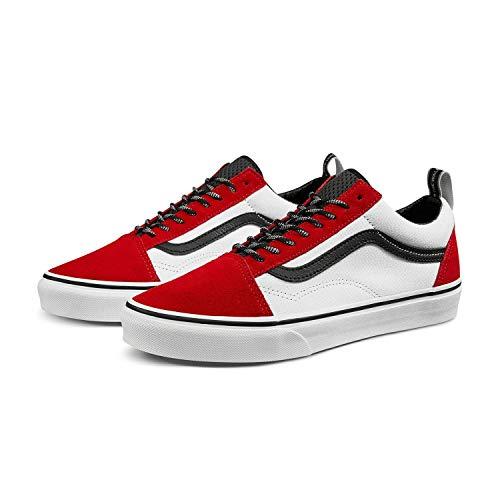 Vans Old Skool (OTW Webbing) Red/Black