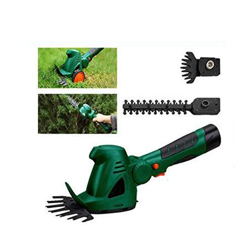 GBB&MYF Combinación de cortacésped inalámbrico Compacto y cizalla para jardín Cortacésped con...