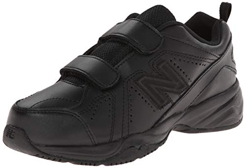 New Balance New Balance KV624 Hook and Loop Training Shoe (Little Kid/Big Kid), Black, 30.5 W EU