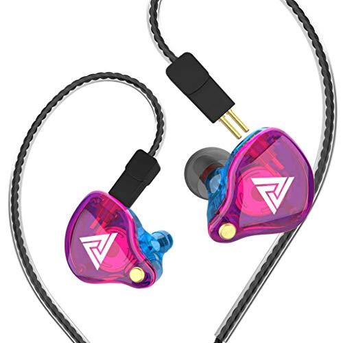 VK4 イヤホン 高音質 ハイレゾ イヤフォン カナル型イヤホン 重低音 有線 マイク付き リモコン 通話可能 音量調整 遮音性 ジャック 携帯 スマホ PC ジム スポーツ androidに対応 3.5 mmスポーツゲーミングヘッドセット VK4