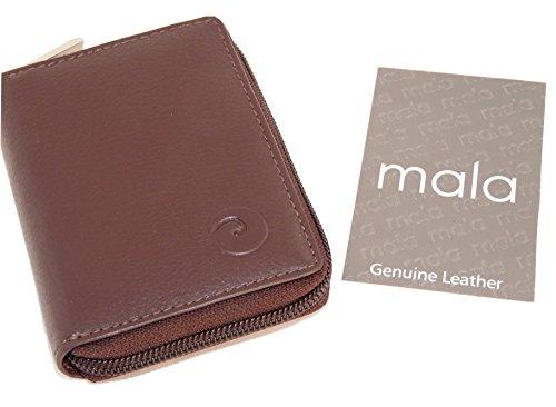 Mala Leather tarjetero, marrón (marrón) - 552 / 5