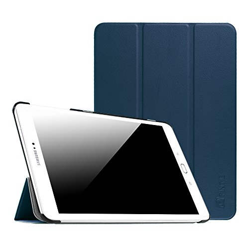 Fintie Slim Shell Case for Samsung Galaxy Tab S2 9.7 - Ultra Lightweight Protective Stand Cover with Auto Sleep/Wake Feature for Samsung Galaxy Tab S2 9.7 Inch Tablet, Navy