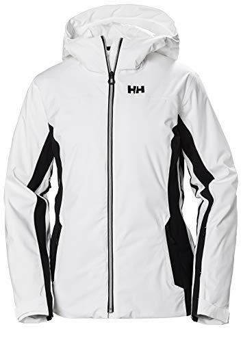 Helly Hansen Damen Majestic Warm Isolierung Skijacke, White, L