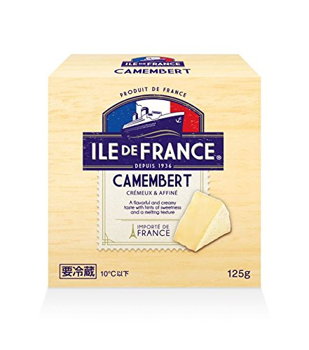 カマンベールチーズ 125g 【冷蔵】イル・ド・フランス(3パック)