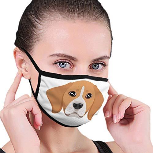 Wiederverwendbarer Gesichtsschutz Sport Mundschutz Hund Haustier Kopf Symbol Mundschutz