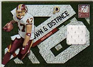 2010 Donruss Elite Down and Distance Jerseys #6 Chris Cooley Game-Worn Jersey Card Serial #'d/299