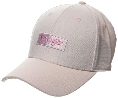Wrangler Logo Cap Gorra de béisbol, Rosa (Cradle Pink Xbj), Talla única (Talla del Fabricante: OS)...
