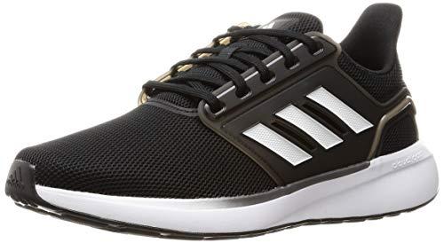 adidas EQ19 Run, Zapatillas de Running Hombre, NEGBÁS/FTWBLA/NEGBÁS, 46 2/3 EU