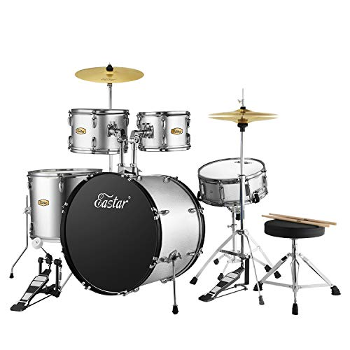 Eastar 22 inch Drum Set Kit Full Size...