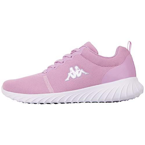 Kappa Damen CES Sneaker, Violett (Flieder/White 2410), 41 EU