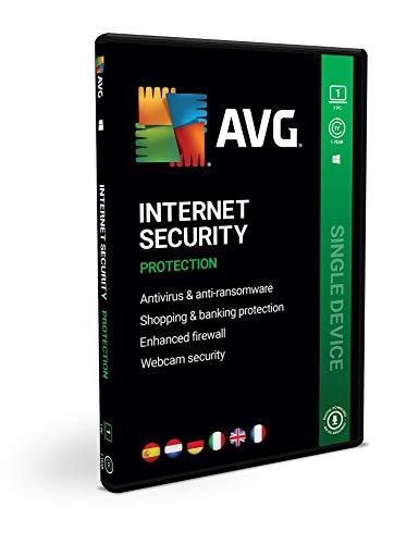 AVG Internet Security | 1 PC | 1 Año | En Caja