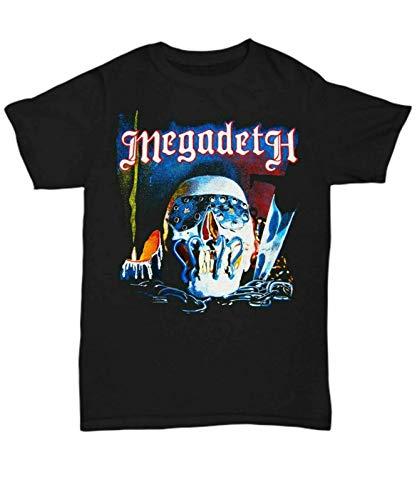 Vintage Megadeth Killing Is My Biness Album Black T-Shirt