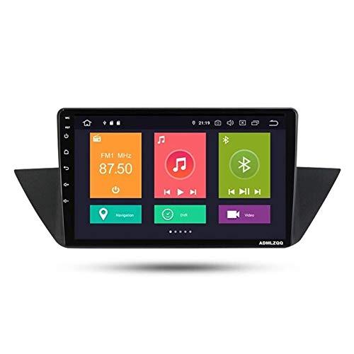 WY-CAR Unidad Principal Estéreo De Radio De Coche Android 10.0 2DIN De 9 Pulgadas para BMW E84 X1 2009-2013, Navegación GPS/Bluetooth/FM/RDS/DSP/Control del Volante/Cámara Trasera,4 Core-WiFi: 4+64G