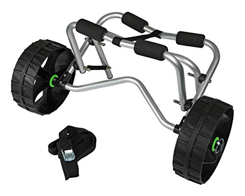 Navyline - Kayak con ruedas de goma