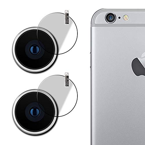 Mobihouse iphone 5s Camera Lens Protector, Scratch Resistance,9H Hardness (Pack of 2) With Free Installation Kit