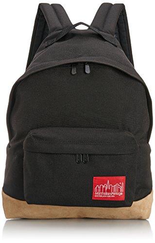 [マンハッタンポーテージ] 正規品【公式】 Suede Fabric Big Apple Backpack バックパック MP1209SD12 Black One Size