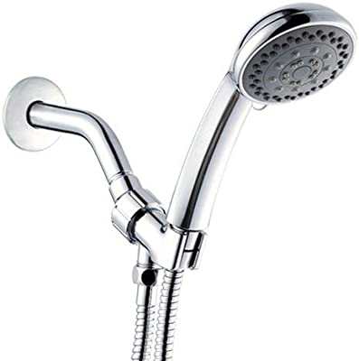 Chrome Methven Aio Handheld Shower Head with Hose and Adjustable Arm Mount