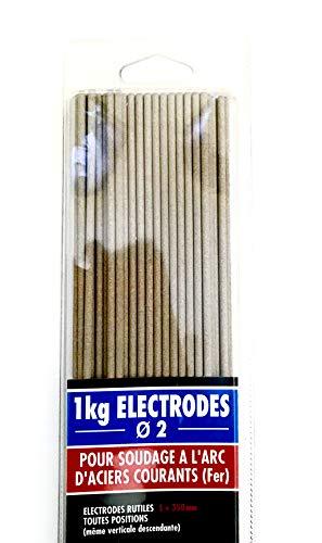 CEVAL France - Electrodos rutiles (1 kg, diámetro 2 mm)