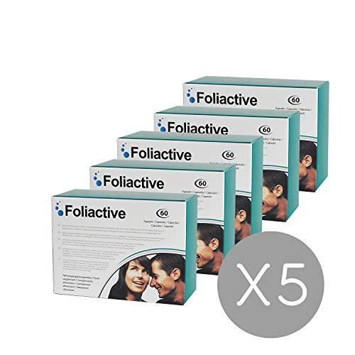 Caída del cabello - 5 Foliactive Pills: Pastillas para detener la caída del cabello