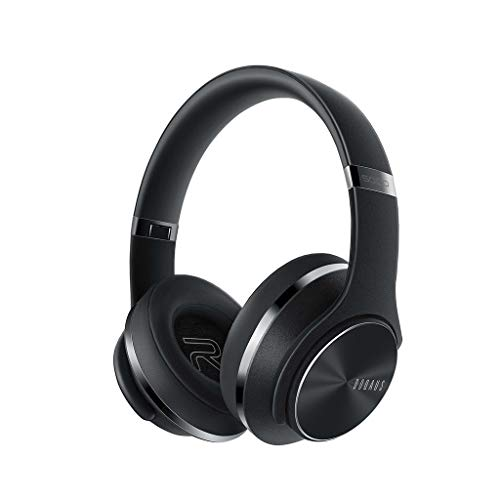 HSKB gaming headset koptelefoon, DOQAUS draadloze koptelefoon over oor HiFi stereo en luidspreker wirelss oordopjes Noise Cancelling oordopjes voor pc/laptop/blik video/online spelen/met microfoon
