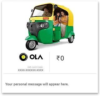 OLA Cabs E-Gift Card
