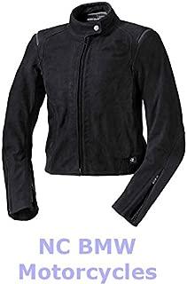 BMW Genuine Motorcycle Women Atlantis Riding Jacket Black / Anthracite Size 76