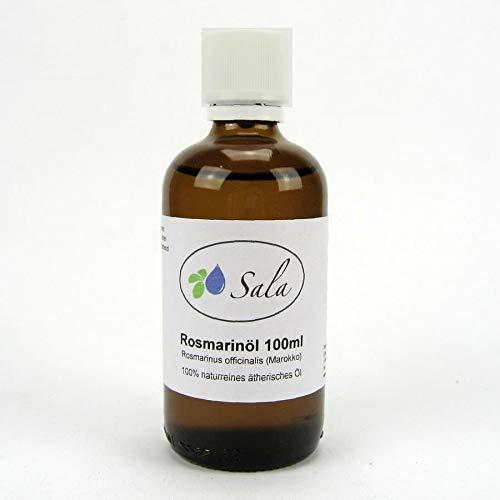 Sala Rosmarinöl Cineol ätherisches Öl naturrein 100 ml Glasflasche