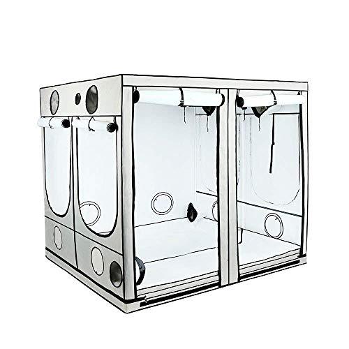 Armario de cultivo interior HOMEbox® Ambient Q240 PAR+ (240x240x200cm)