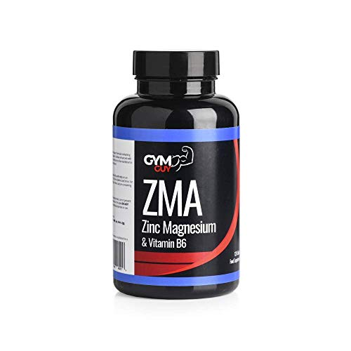 ZMA Supplement 1200mg, 120 Tablets, 40 Servings by GYM GUY