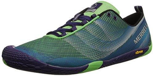 Merrell Women's Vapor Glove 2 Trail Running Shoe,Bright Green/Purple,6 M US
