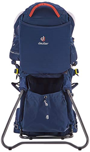 DEUTER Kid Comfort Active Kindertrage, Midnight, 70 x 43 x 34 cm, 12 L