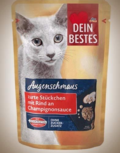 Dein Bestes Nassfutter für Katzen, 12er Pack (12 x 100g)