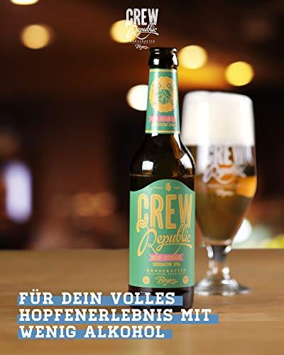 CREW Republic® Craft Bier Hop Junkie, Session IPA | World Beer Awards Gewinner Session IPA 2020 | Bierspezialität aus Bayern nach deutschem Reinheitsgebot (20 x 0,33 l) - 5