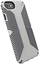 Speck Presidio Grip iPhone SE 2020 Case/iPhone 8/iPhone 7/iPhone 6S Case, Marble Grey/Anthracite Grey