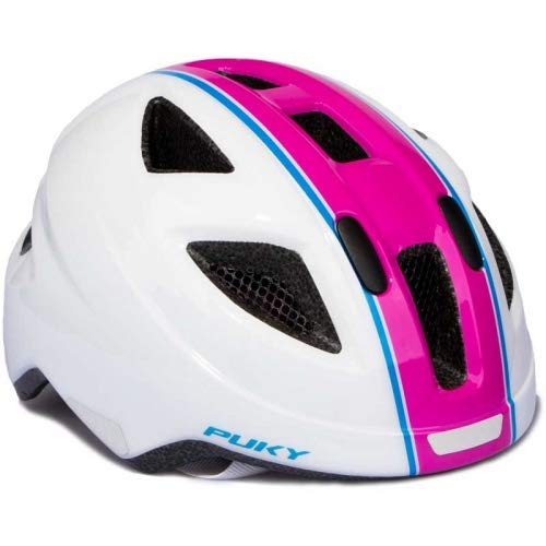 Puky PH 8 Kinder Fahrrad Helm Gr.51-56cm weiß/pink