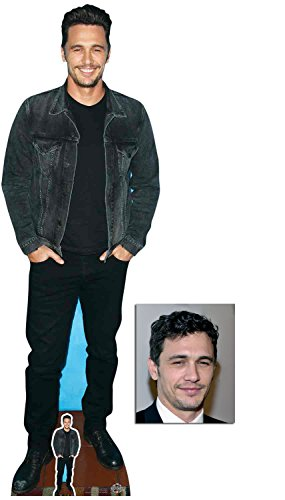 Fan Pack - James Franco Lifesize and Mini Cardboard Cutout / Standup / Standee - Includes 8x10 Star Photo